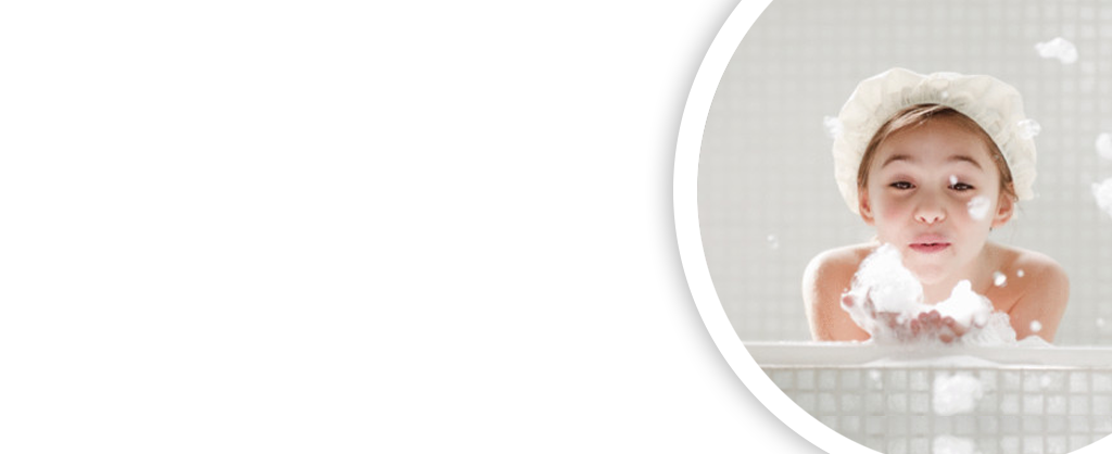 Enjoying your hot water