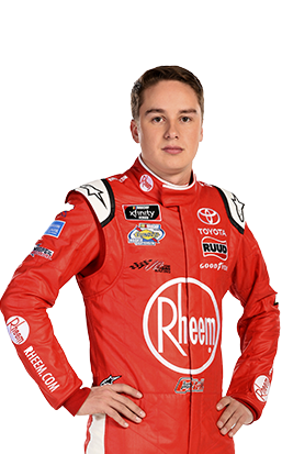 Christopher Bell - Driver of the No. 20 Rheem & Ruud Toyota Camry for Joe Gibbs Racing in the NASCAR XFINITY Series
