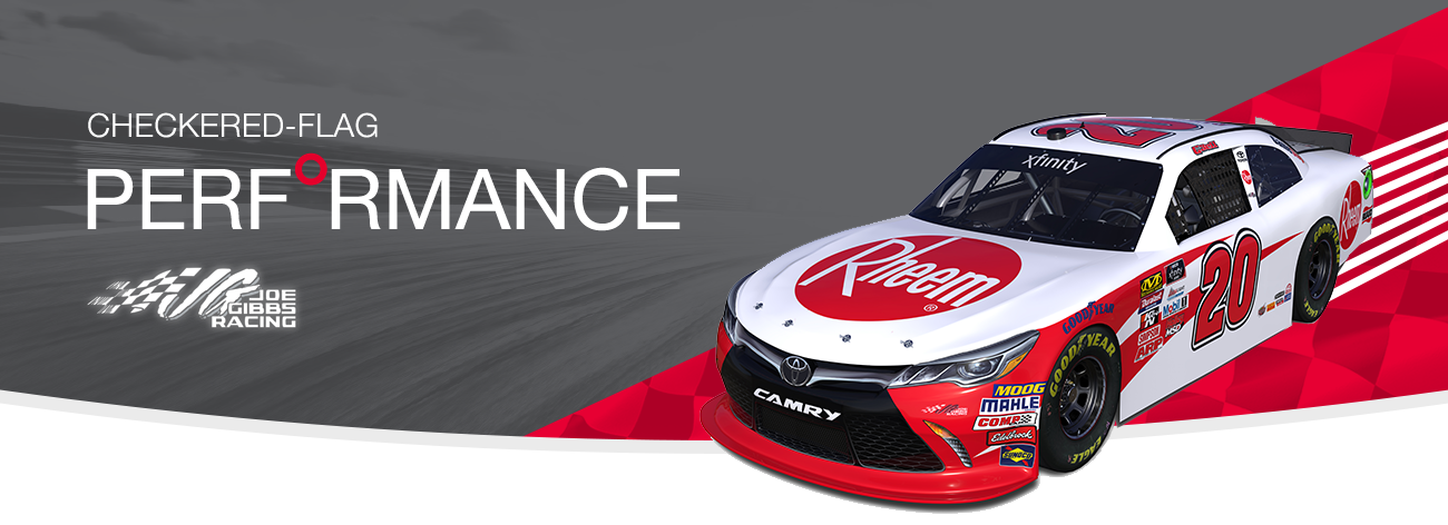 Rheem Racing - Checkered-Flag Performance