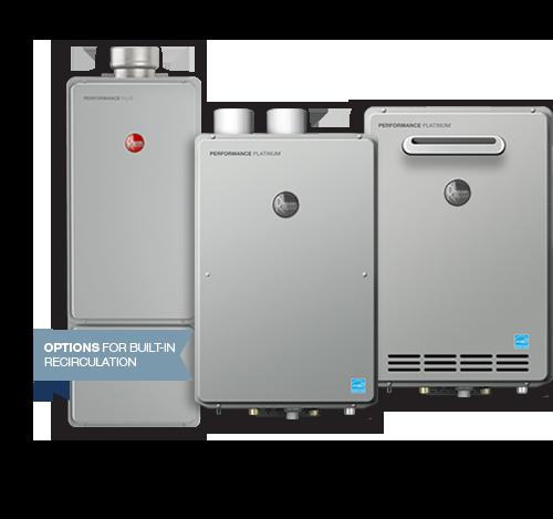 Rheem Tankless Water Heater get more hot water with rheem tankless water heaters