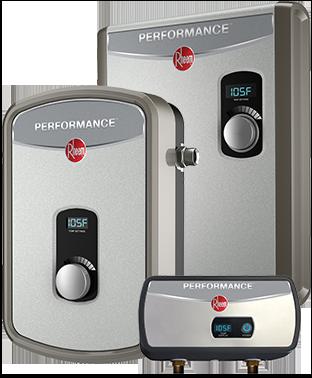 Rheem Tankless Water Heater tankless electric selection guide - rheem water heaters