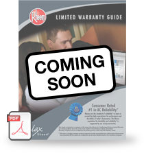 Coming Soon - Download Warranty Guide for Heating & Cooling