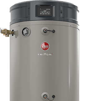 Product image of Rheem Triton commercial gas water heater.