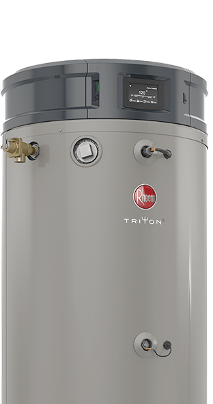 Rheem Triton Commercial Gas Water Heater - The Most Intelligent Commercial Water Heater on the Market 2018