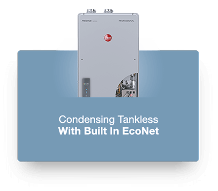 Rheem High Efficiency Natural Gas Tankless Water Heater Product Photo