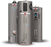Picture of Rheem smart water heaters