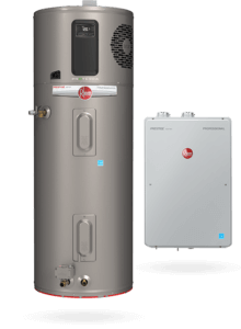two ENERGY STAR certified water heaters