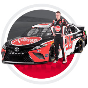 plumbers enter to win call with NASCAR driver Christopher Bell