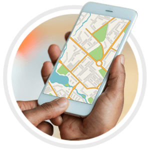 app with map