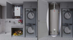 tankless and tank water heaters