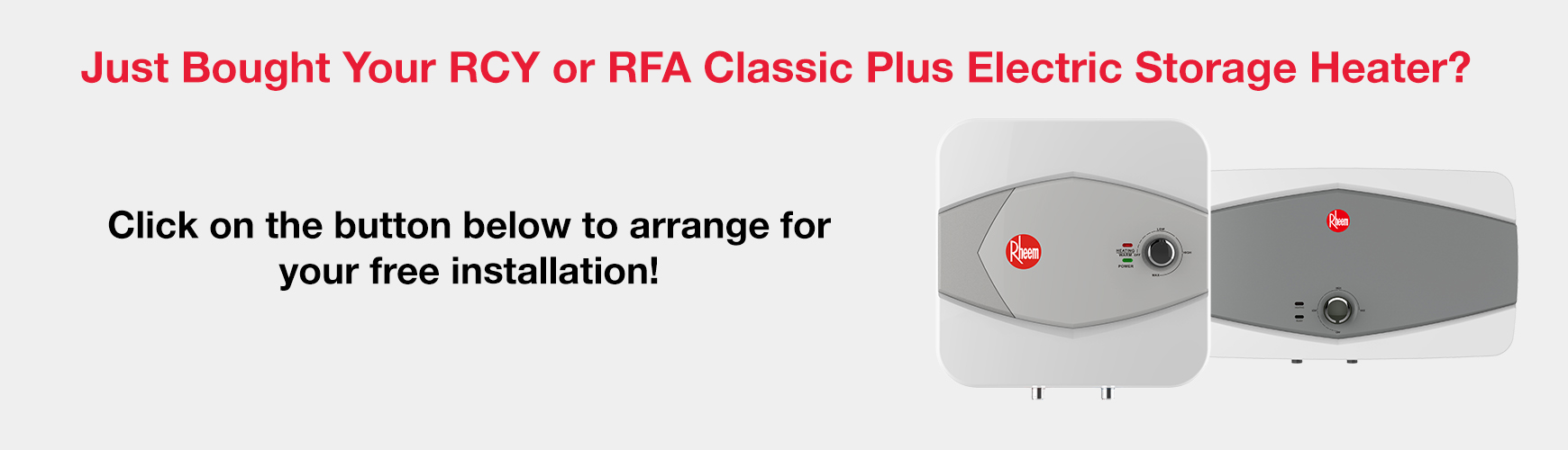 RCY RFA Free Installation Promo Schedule