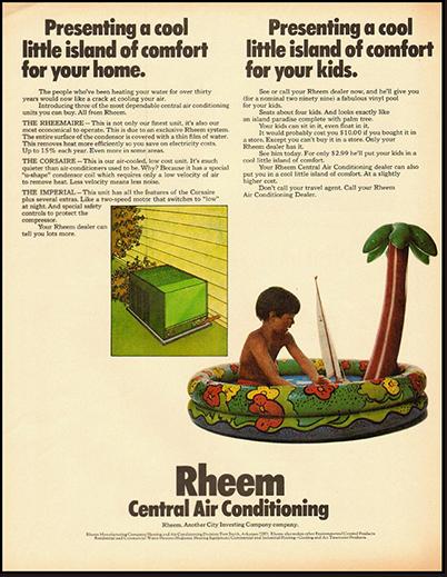 Rheem Manufacturing Company Timeline Demo