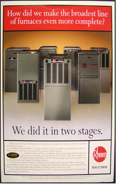 Rheem Manufacturing Company Timeline Demo
