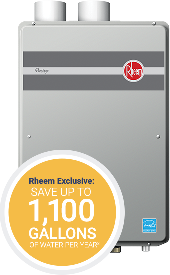 Get More Hot Water With Rheem Tankless Water Heaters