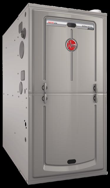 EcoNet™ Enabled Prestige® Series Modulation Upflow Gas Furnace (R98V)