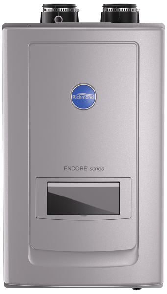 Condensing 11.0 GPM with Built-In Recirculation Indoor Tankless