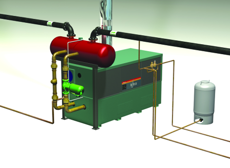 Hydronic ASME Expansion Tanks