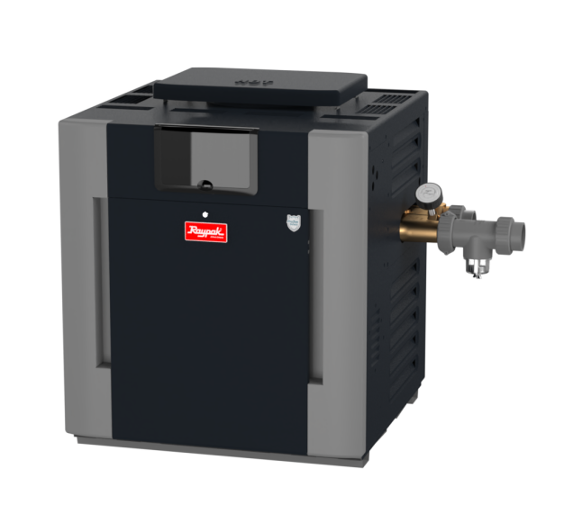 Low NOx ASME Pool/Spa Heaters, 207A-407A