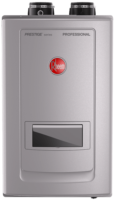 Professional Prestige Series: Condensing Tankless Gas Water Heaters with Built-in Recirculation